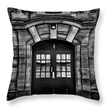 University Of Toronto Mechanical Engineering Building Throw Pillow by Brian Carson