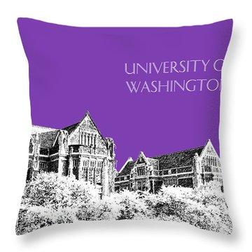 University Of Washington Throw Pillows