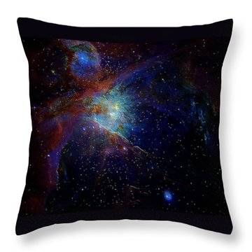 Unknown Distant Worlds Throw Pillow