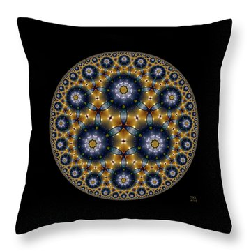 Throw Pillow featuring the digital art Unknown Unknowns by Manny Lorenzo