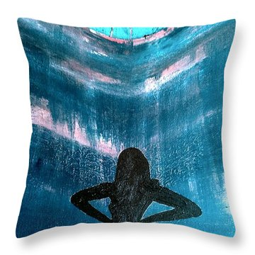 Unlimited Throw Pillow by Jacqueline McReynolds