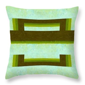 Unlocking The Way Throw Pillow by Michelle Calkins