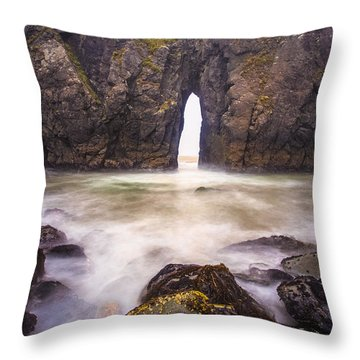 Unlocking Wonders Beyond Throw Pillow