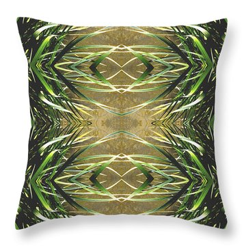 Unnatural 16 Throw Pillow by Giovanni Cafagna
