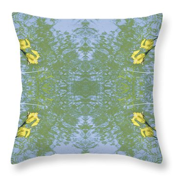 Unnatural 17 Throw Pillow by Giovanni Cafagna