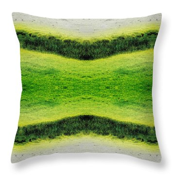 Unnatural 2.1 Throw Pillow by Giovanni Cafagna