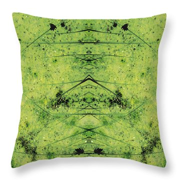 Unnatural 3 Throw Pillow by Giovanni Cafagna