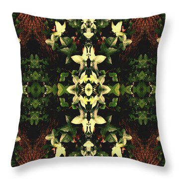 Unnatural 43 Throw Pillow by Giovanni Cafagna
