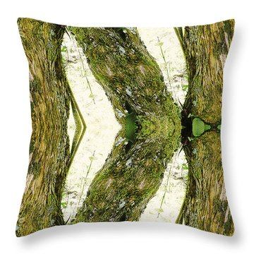 Unnatural 45 Throw Pillow by Giovanni Cafagna
