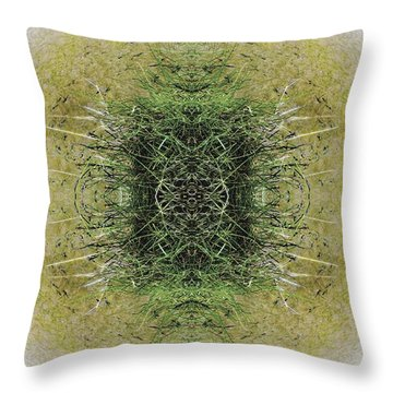 Unnatural 6.1 Throw Pillow by Giovanni Cafagna