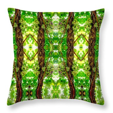 Unnatural 74 Throw Pillow by Giovanni Cafagna
