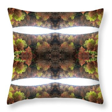 Unnatural 77.1 Throw Pillow by Giovanni Cafagna