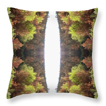 Unnatural 81 Throw Pillow by Giovanni Cafagna