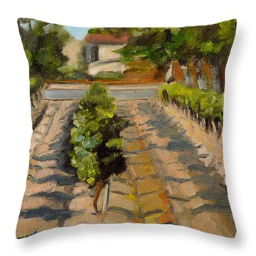 Unparalleled Richness Throw Pillow