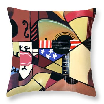 Unpluged Throw Pillow by Anthony Falbo