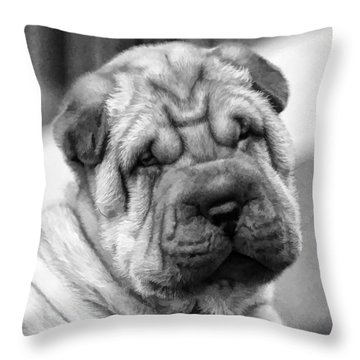 Unrefuseable Face Throw Pillow