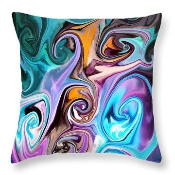 Unscrewed Throw Pillow by Chris Butler