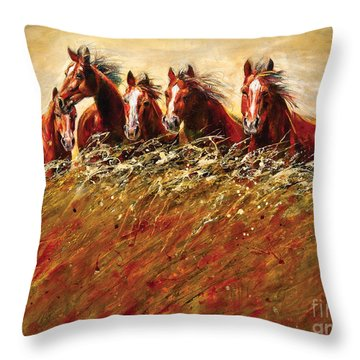 Unsung Heroes Throw Pillow