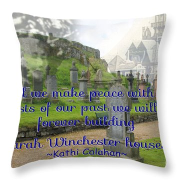 Until We Make Peace Throw Pillow