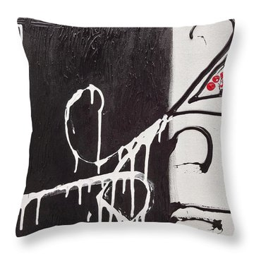 Untitled # 1 Throw Pillow by Jason Williamson