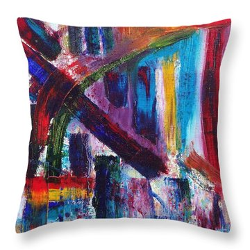 Untitled # 9 Throw Pillow by Jason Williamson