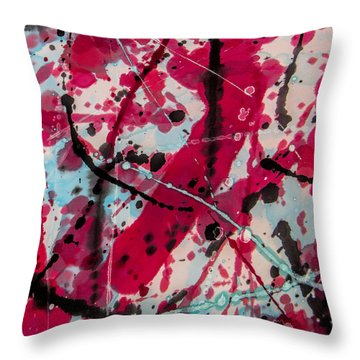 My Bloody Valentine Throw Pillow