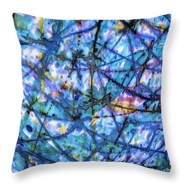 Homage To Van Gogh Throw Pillow