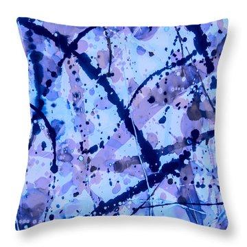 Julie Christie Throw Pillow