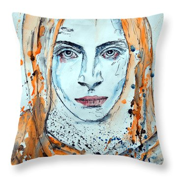 Untitled 10 Throw Pillow by Ismeta Gruenwald