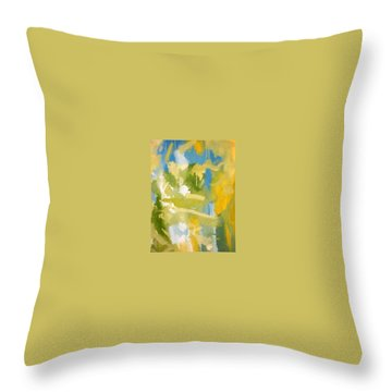 Untitled #10 Throw Pillow by Steven Miller