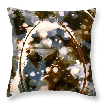 Coffee And Cigarettes Throw Pillow