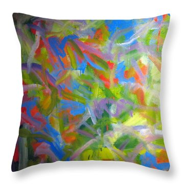 Untitled #2 Throw Pillow by Steven Miller