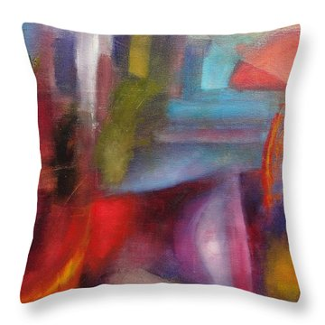 Untitled #3 Throw Pillow by Jason Williamson