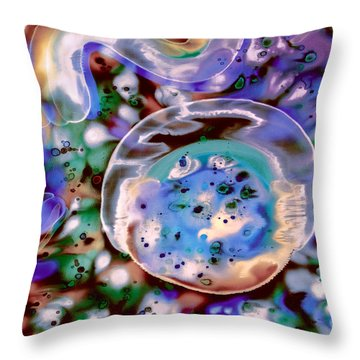 Enigma Defined Throw Pillow