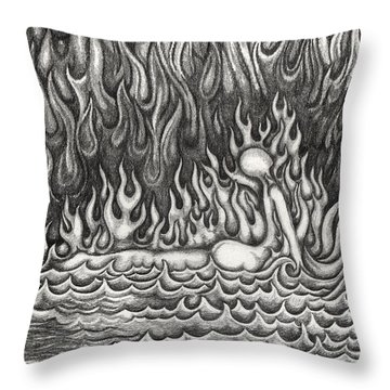 Untitled 33 Throw Pillow