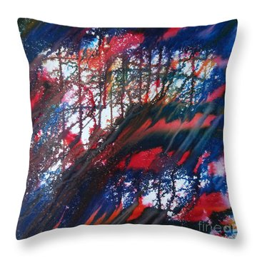 Dabanol-1 Throw Pillow
