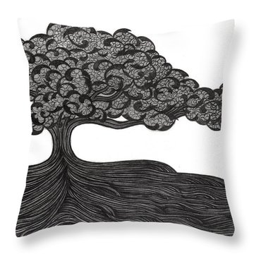 Untitled 36 Throw Pillow