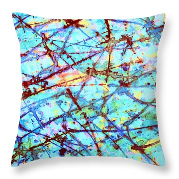 Breaking Free Throw Pillow by Odessa Christiana