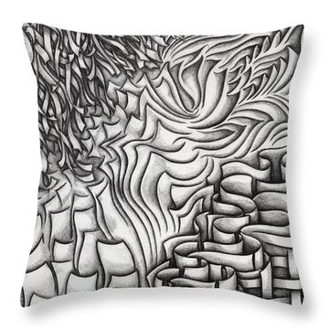 Untitled 39 Throw Pillow