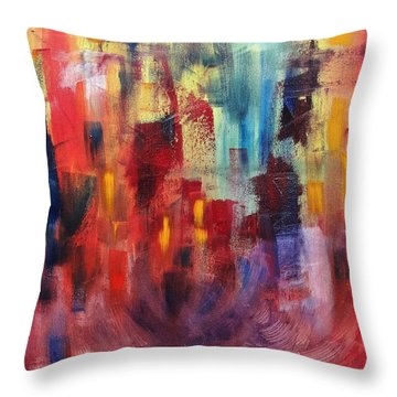 Untitled #4 Throw Pillow by Jason Williamson