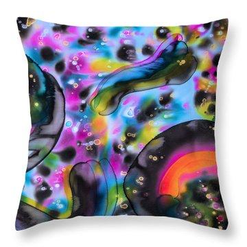 Some Velvet Morning Throw Pillow