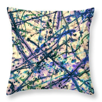 The Seed Genie Throw Pillow