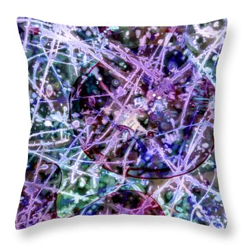 Hot Child In The City Throw Pillow