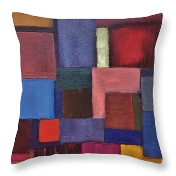 Untitled #7 Throw Pillow by Jason Williamson