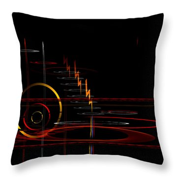 Untitled 84 Throw Pillow by Andrew Penman