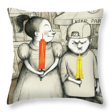 New Yorker May 27th, 2013 Throw Pillow