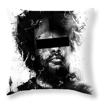 Untitled Throw Pillow by Balazs Solti