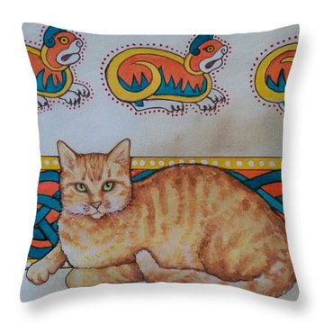 Untitled Throw Pillow by Beth Clark-McDonal