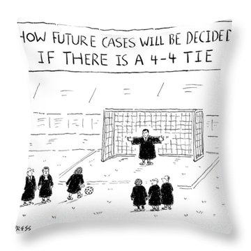 New Yorker August 22nd, 2016 Throw Pillow