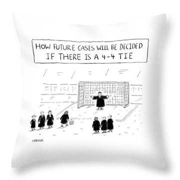 New Yorker August 22nd, 2016 Throw Pillow